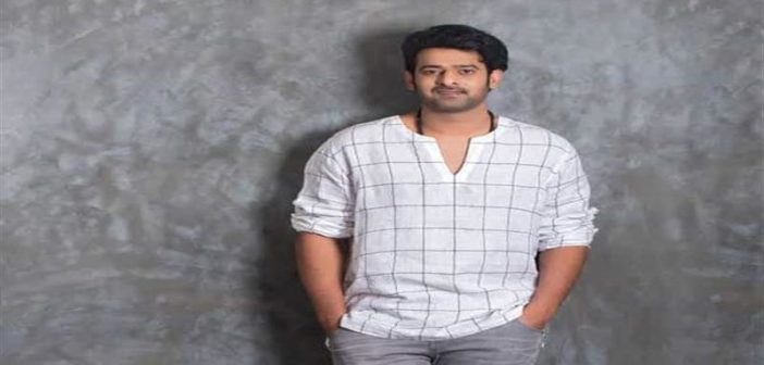 Baahubali modern look for Sahoo