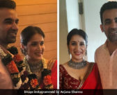 Zaheer khan married Actress Sagarika