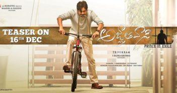 Agnathavasi teaser on Dec 16th