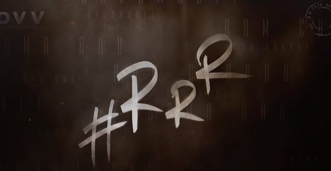 Rajamouli #RRR is On and Official