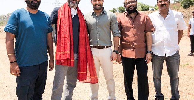 Trivikram NTR shoot started